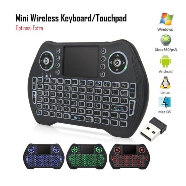Mini Keyboard and touchpad